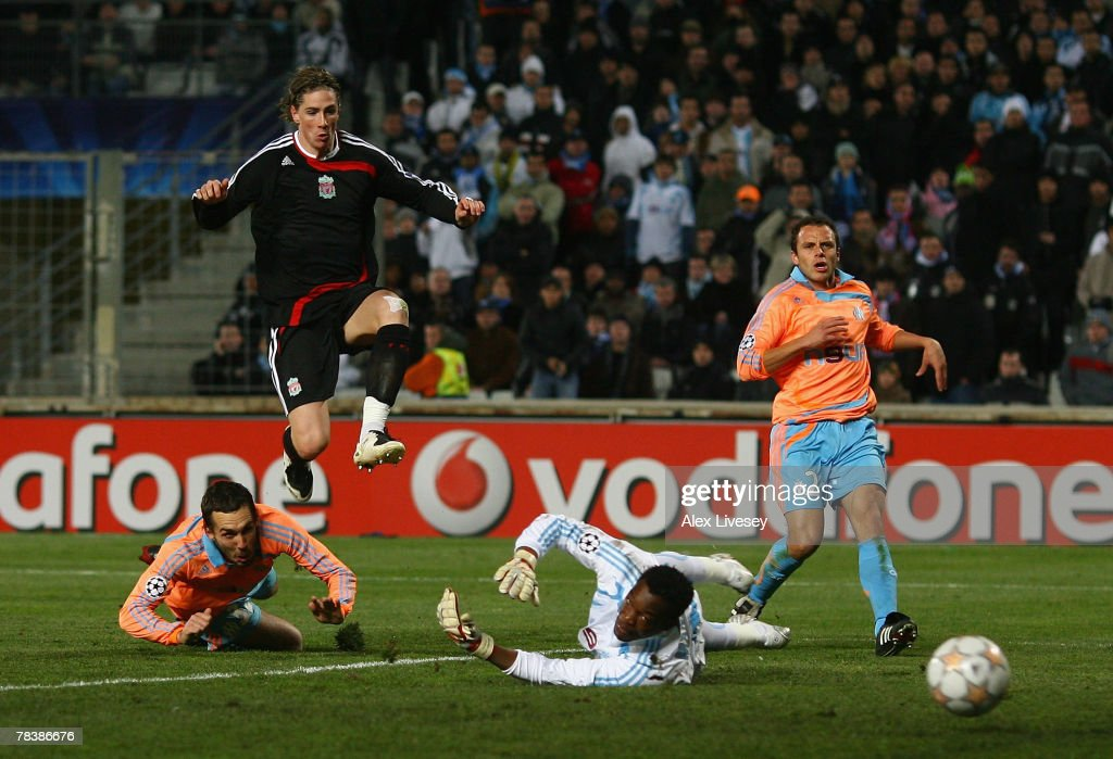 Marseille v Liverpool - UEFA Champions League : News Photo