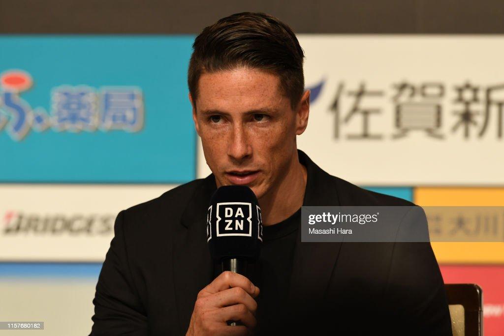 Fernando Torres Press Conference : ニュース写真