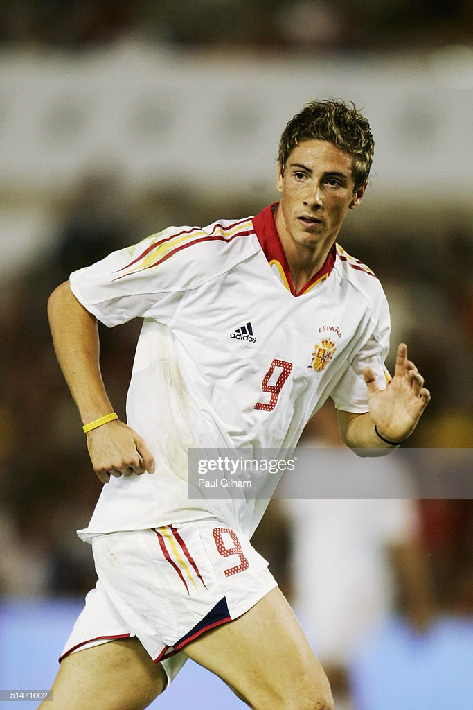 Fernando Torres of Spain : News Photo