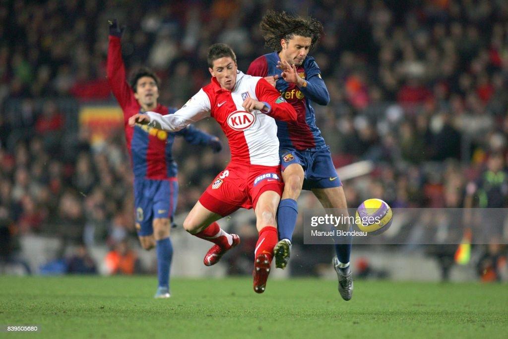 Fernando TORRES Thiago MOTTA FC Barcelone Atletico Madrid News Photo Getty Images