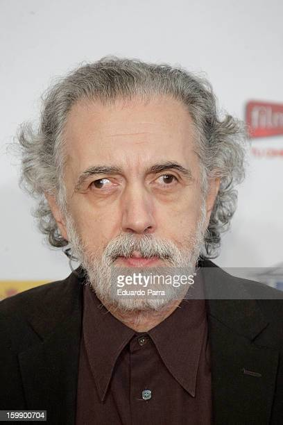 Fernando Trueba attends Jose Maria Forque awards photocall at Canal theatre on January 22 2013 in Madrid Spain
