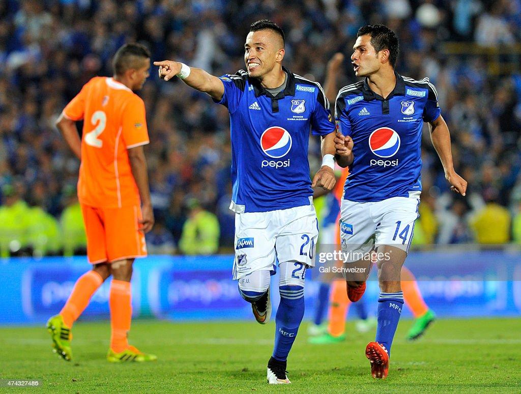 Millonarios v Envigado - Liga Aguila I 2015