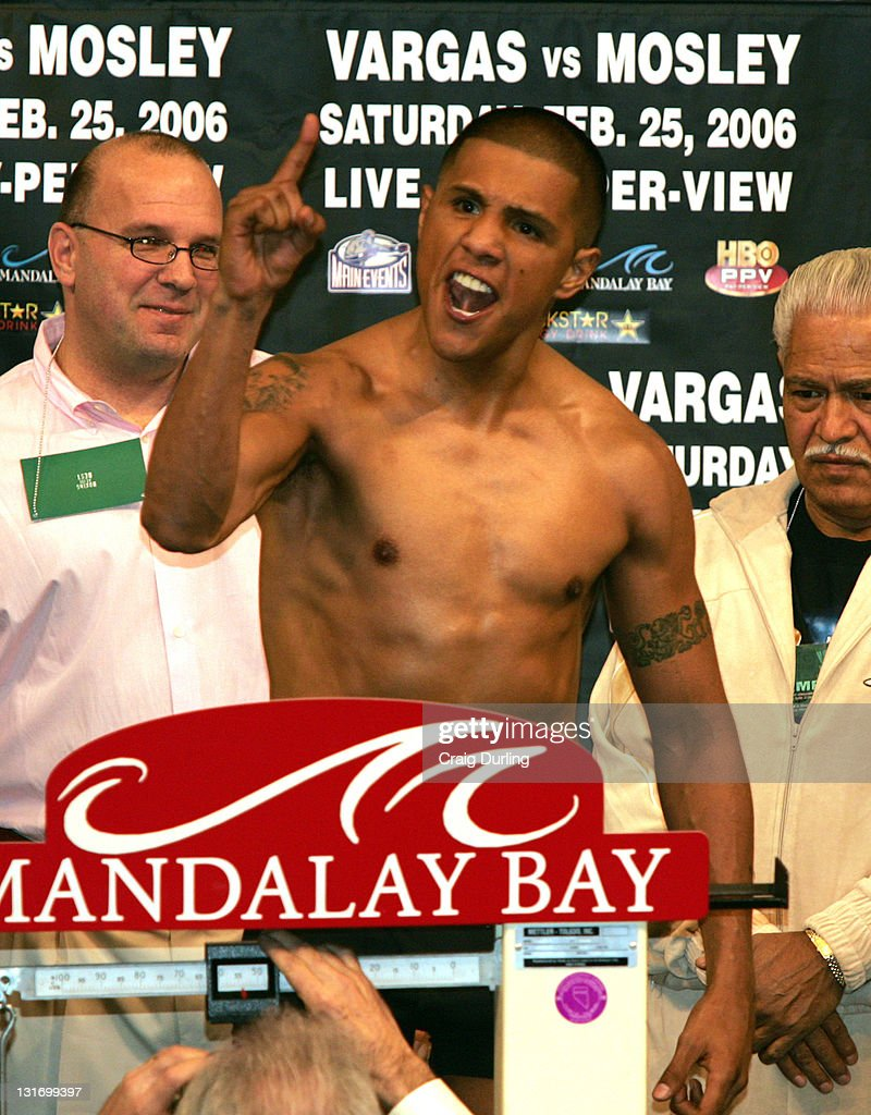 Fernando Vargas vs Shane Mosley - February 25, 2006