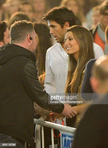 Fernando Verdasco and Ana Boyer attend Enrique Iglesias concert on November 15 2014 in Madrid Spain