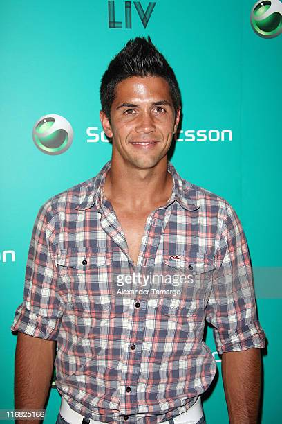 Fernando Verdasco arrives at the Sony Ericsson VIP Party at Liv Nightclub at Fontainebleau Miami on March 25 2009 in Miami Beach Florida