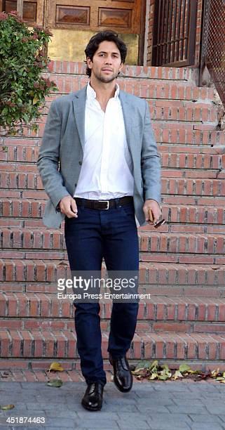 Fernando Verdasco attends his 30th birthday party on November 15 2013 in Madrid Spain