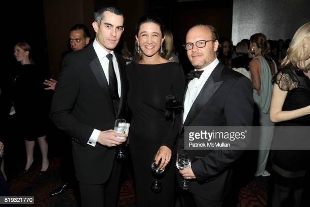 Fernando Vigil Vanessa von Bismarck and Max Weiner attend NEW YORKERS FOR CHILDREN Spring Dinner Dance Presented by AKRIS at The Mandarin Oriental on...