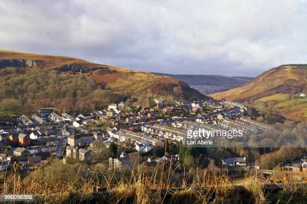 ferndale and maerdy - maerdy stock pictures, royalty-free photos & images