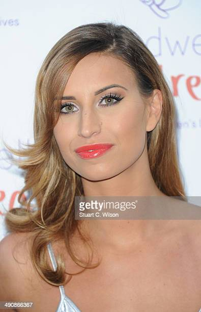 Ferne McCann attends the Caudwell Children Butterfly Ball at The Grosvenor House Hotel on May 15 2014 in London England
