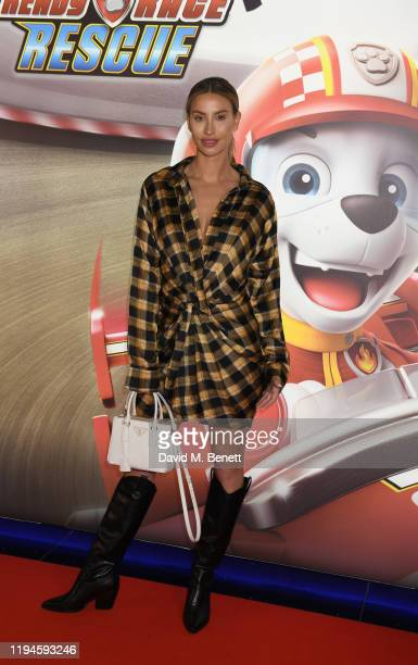 Ferne McCann attends the gala screening of Paw Patrol at Cineworld Leicester Square on January 19 2020 in London England