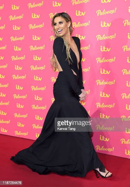 Ferne McCann attends the ITV Palooza 2019 at The Royal Festival Hall on November 12 2019 in London England
