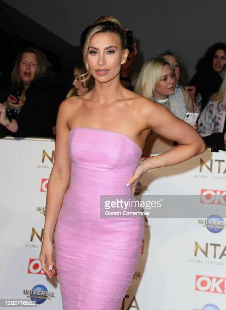 Ferne McCann attends the National Television Awards 2020 at The O2 Arena on January 28, 2020 in London, England.