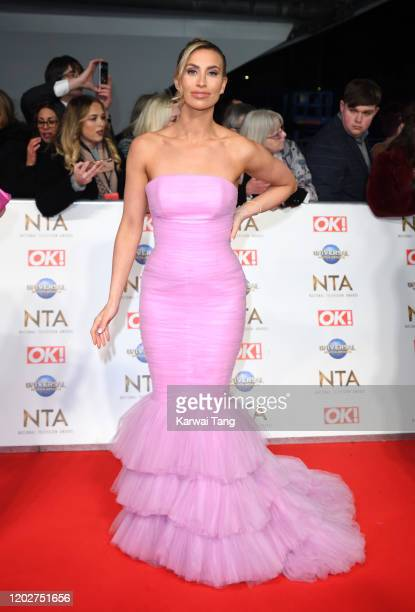 Ferne McCann attends the National Television Awards 2020 at The O2 Arena on January 28 2020 in London England