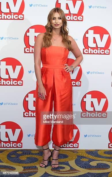 Ferne McCann attends the TV Choice Awards 2015 at Hilton Park Lane on September 7 2015 in London England