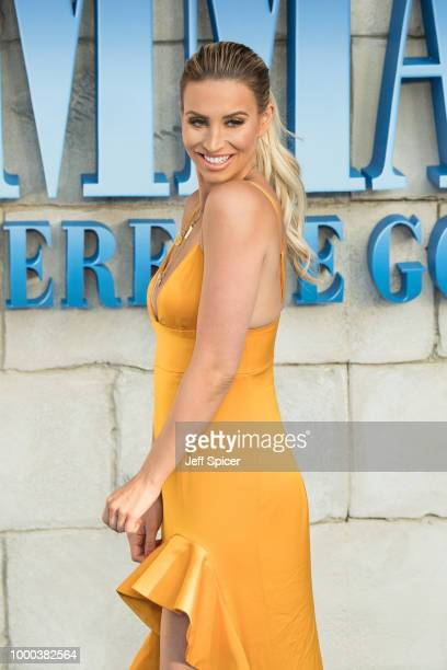 Ferne McCann attends the UK Premiere of Mamma Mia Here We Go Again at Eventim Apollo on July 16 2018 in London England
