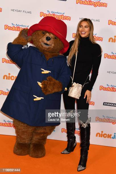 Ferne McCann attends the UK Premiere of The Adventures Of Paddington at The Ham Yard Hotel on February 9 2020 in London England