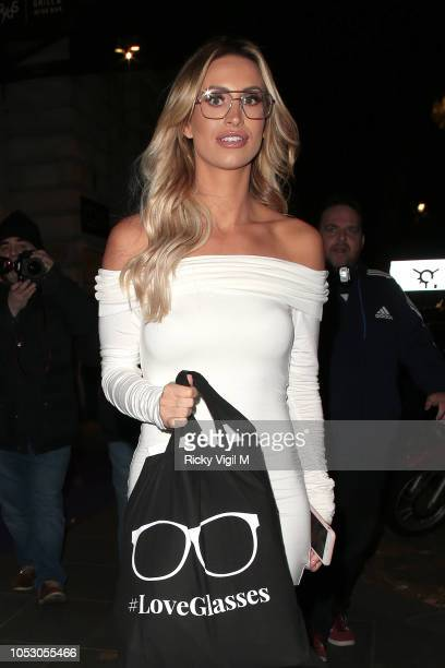 Ferne McCann seen attending Spectacle Wearer of the Year Awards on October 24 2018 in London England