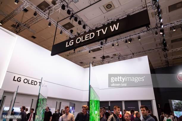 LG Fernseher Oled TV W auf der IFA 2017 in Berlin