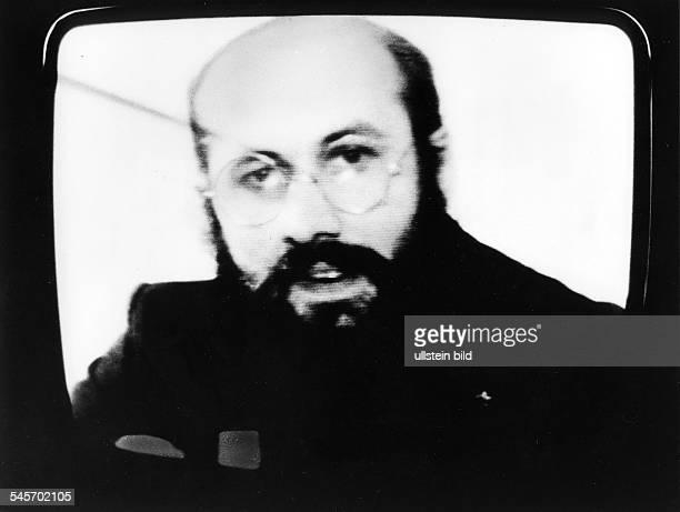 Fernseherklärung von Horst Mahler,einer von fünf Gefangenen, derenFreilassung nach der Entführung vonPeter Lorenz gefordert wird:Mahler lehnt den...