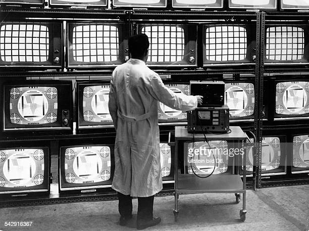 Tv Telefunken Pictures and Photos - Getty Images