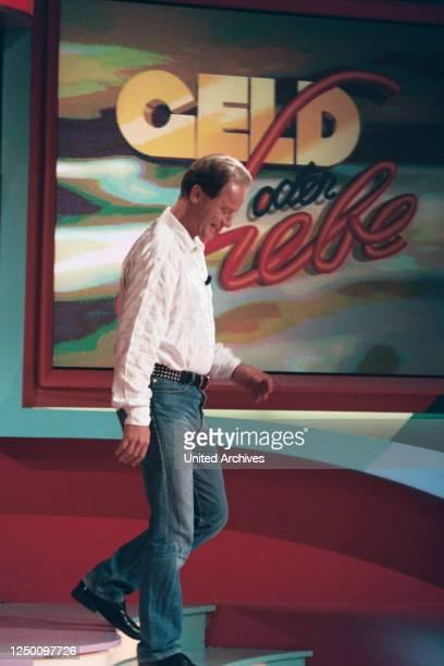 ARD Fernsehsendung Geld oder Liebe 280997 Der Kölner Komiker Tom Gerhardt zu Gast bei der ARD Fernsehsendung Geld oder Liebe 280997