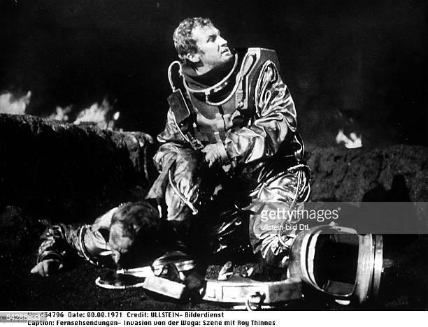 Fernsehserie Invasion von der Wega:Roy Thinnes in einer Szene- 1971