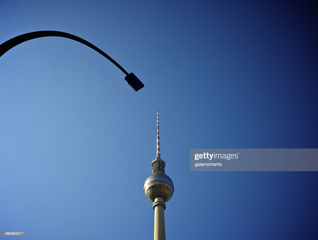 Fernsehturm in Berlin : Stock Photo