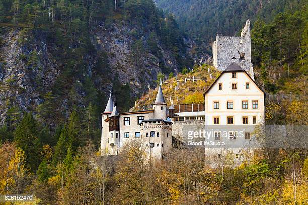 fernstein castle - local landmark stock pictures, royalty-free photos & images