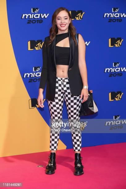 Ferny Graciano attends the red carpet of the MTV MIAW Awards at Palacio de los Deportes on June 21 2019 in Mexico City Mexico