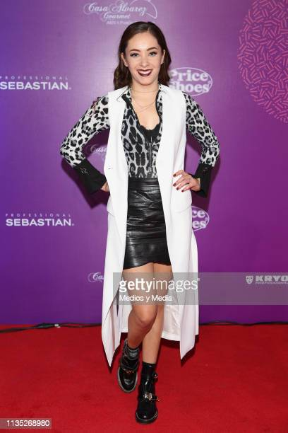 Ferny Graciano poses on the red carpet during the 'Eres' Awards 2019 at Campo Marte on March 11 2019 in Mexico City Mexico