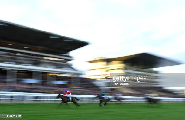 Ferny Hollow ridden by Paul Townend on the way to winning the Weatherbys Champion Bumper at Cheltenham Racecourse on March 11 2020 in Cheltenham...