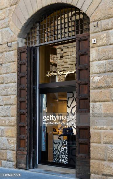 ferragamo store, florence, italy - ferragamo stock pictures, royalty-free photos & images