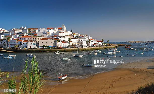 ferragudo, in light of maritime - algarve stock photos and pictures