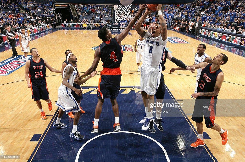 Conference USA Basketball Tournament - UTEP v Memphis : News Photo