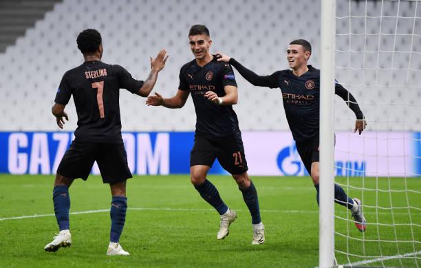 FRA: Olympique de Marseille v Manchester City: Group C - UEFA Champions League