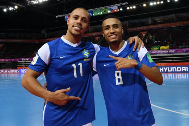 LTU: Vietnam v Brazil: Group D - FIFA Futsal World Cup 2021