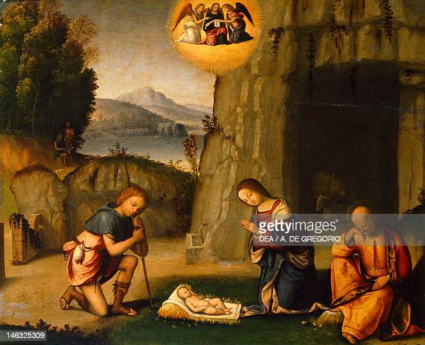 Ferrara Pinacoteca Nazionale Nativity by Benvenuto Garofalo