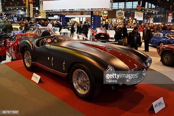 Ferrari 166 MM Barquette at the classic car show