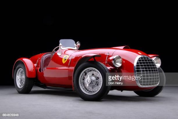 1947 ferrari 166 spyder corsa, serial number 002. - ferrari stock pictures, royalty-free photos & images