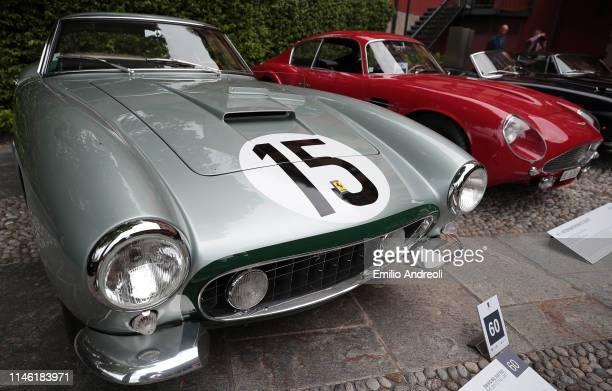 Ferrari 250 GT Berlinetta SWB Competizione on display at the Concorso d'Eleganza Villa d'Este on May 25 2019 in Como Italy Approximately 50 historic...