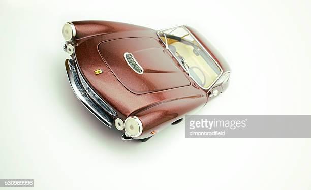 Ferrari 250 GT Lusso modèle de voiture sur blanc