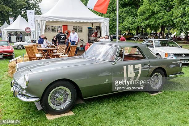 "ferrari 250 gt pininfarina coupe classic 1950s italian sports ca - ""sjoerd van der wal"" photos et images de collection"
