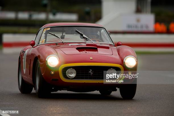 Ferrari 250 GT SWB/C entrant LCAL Anthology Inc driven by Clive Joy Norman Nato in the Kinrara Trophy at Goodwood on September 8th 2017 in Chichester...