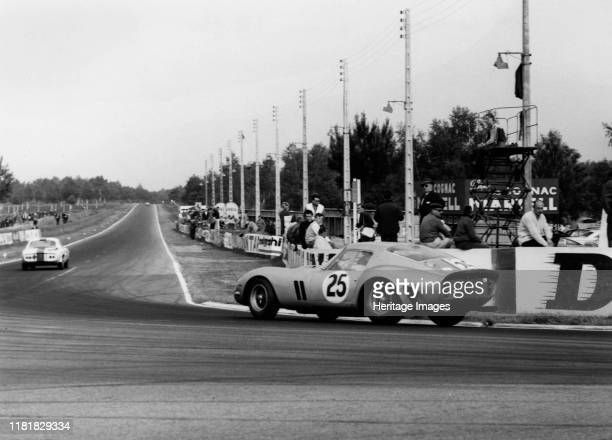 Ferrari 250 GTO of Dumay Dernier 1963 Le Mans 24 hour race finished 4th Creator Unknown