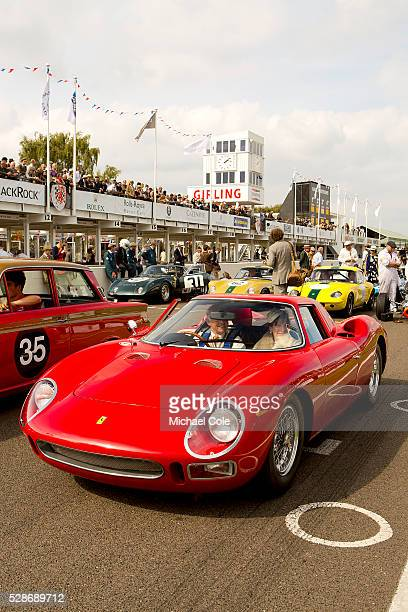 Ferrari 250 LM at The Goodwood Revival Meeting 13th Sept 2014