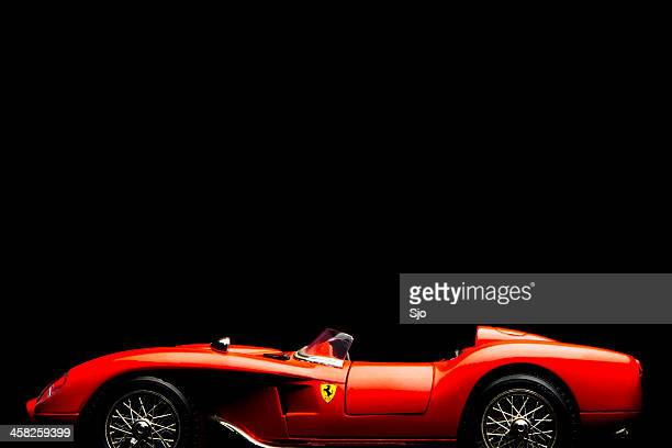 ferrari 250 testarossa model car - ferrari stock pictures, royalty-free photos & images