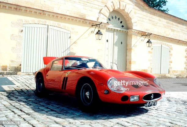 Ferrari 250GTO ch no 4115GT at Chateau Margaux France