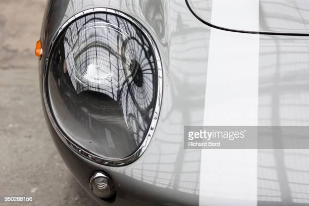 Ferrari 275 GTB 1966 is seen during the Tour Auto Optic 2000 at Le Grand Palais on April 23 2018 in Paris France