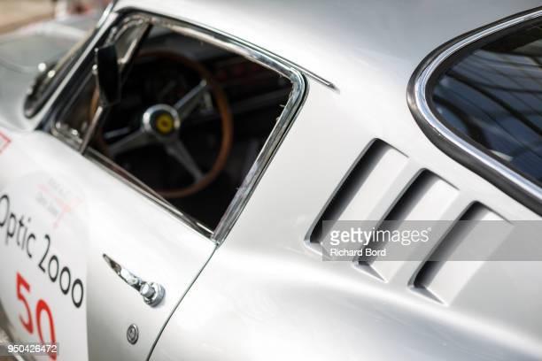 Ferrari 275 GTB/4 1967 is seen during the Tour Auto Optic 2000 at Le Grand Palais on April 23 2018 in Paris France