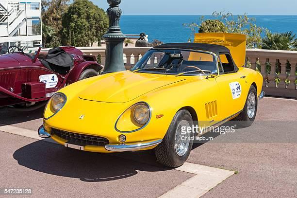 ferrari 275 gts, monte carlo, monaco - monte carlo stock pictures, royalty-free photos & images